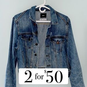 Urban Outfitters Distressed Jean Jacket